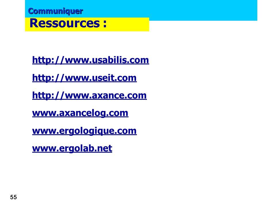 Communiquer 54 Exemple de mission de NETWAY www.netway.lu Nespresso  Audit,  tests utilisateurs  Conception ergonomique www.netway.lu Résultat une