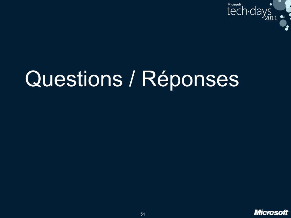 51 Questions / Réponses