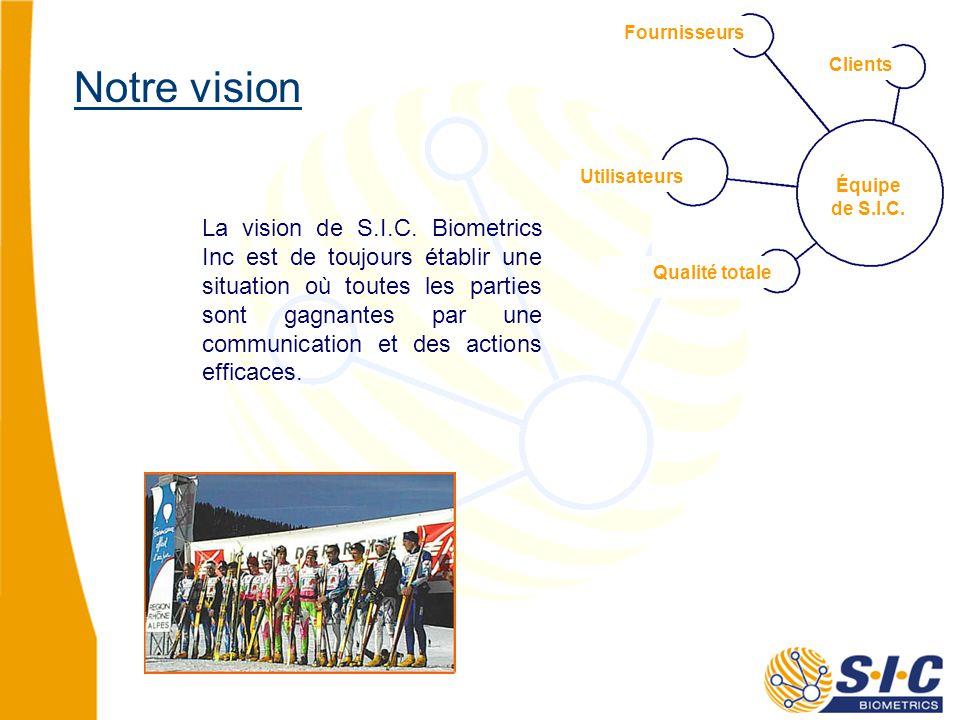 La vision de S.I.C.