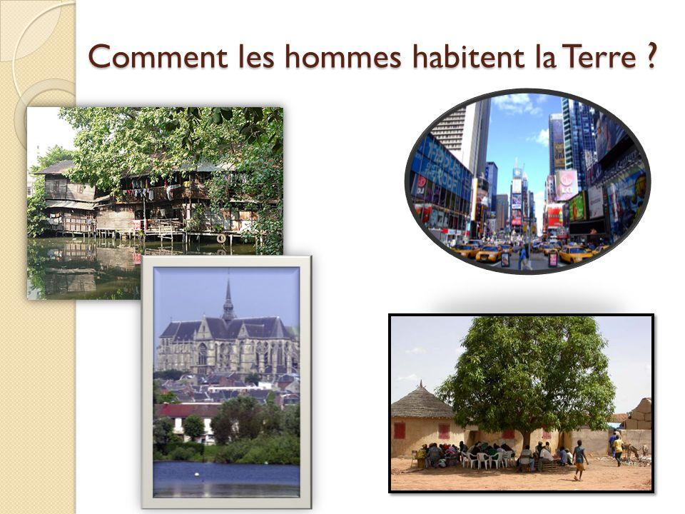 B – je définis MON territoire Où est Saint Quentin dans le monde .