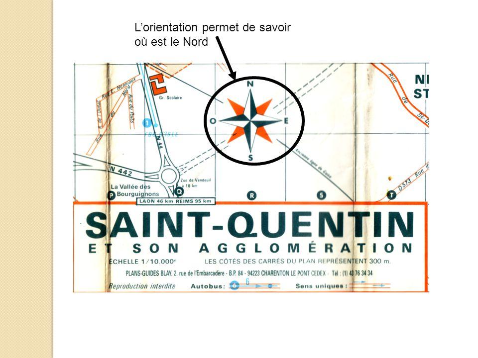II – Quelles sont les caractéristiques de mon espace proche : Saint Quentin .