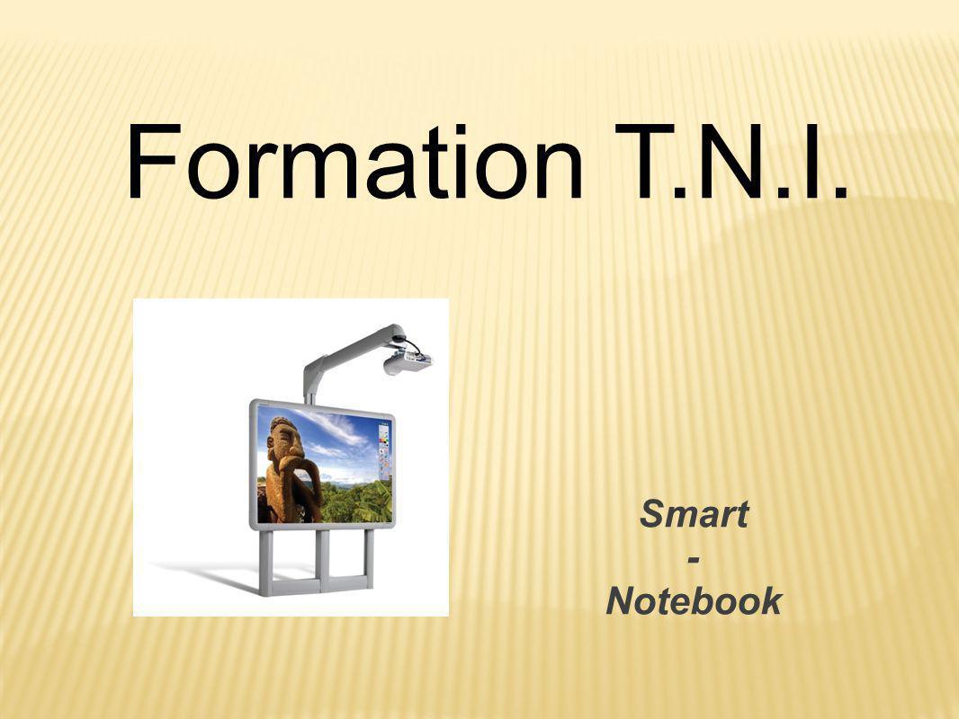 Programme de la formation Lundi 1- Quelques explications 2- Mise en commun et bilan des pratiques 3- Le logiciel du TNI 4- Les attentes 5- Quelques outils Mardi 6- Mise en situation 7- Mise en commun des situations 8- Réponses aux attentes 9- La pédagogie