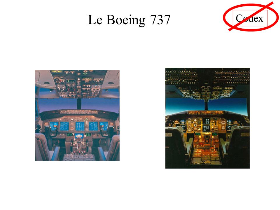 Codex Le Boeing 737