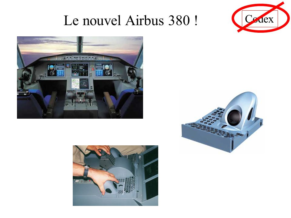 Codex Le nouvel Airbus 380 !