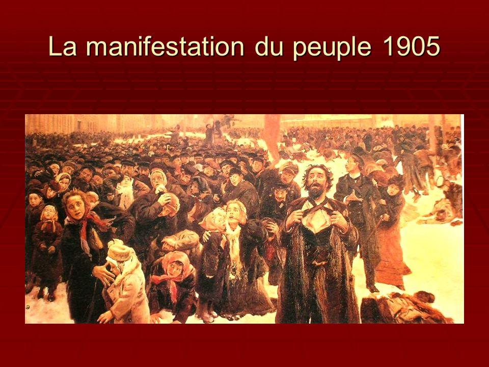 1905 – Révolution échouée  « Sire .