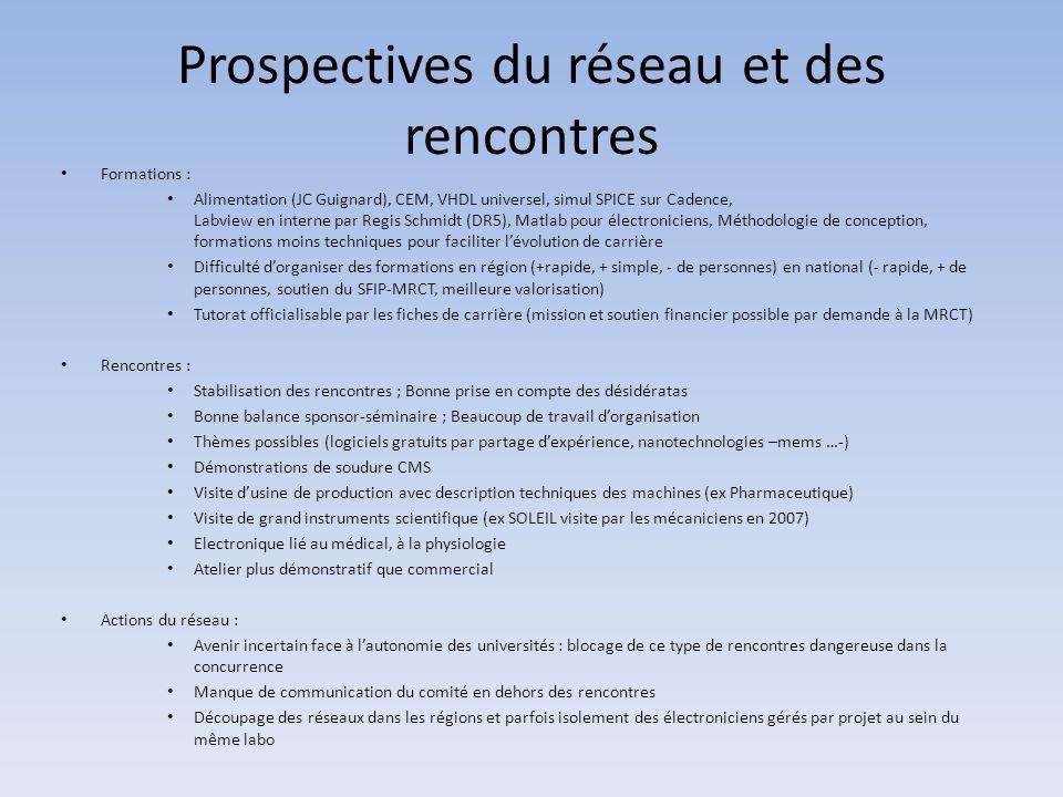 Toulouse 2010 • Avant l'organisation des rencontres, clarification du rôle des réseaux régionaux dans le réseau national.