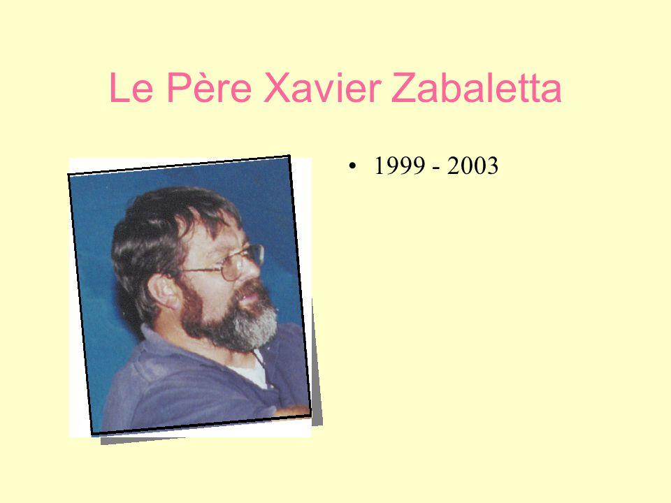 Le Père Michel Brondino •1•1985 – 1999 •D•Dans une période de profonde mutation de notre quartier.