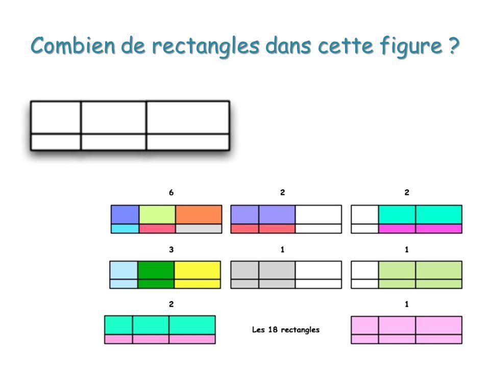 Combien de rectangles dans cette figure ?
