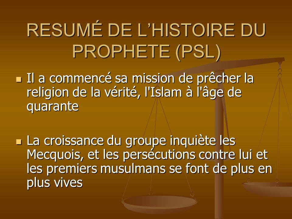 Sa Mission Pendant cette période courte de 23 ans en tant que prophète, il a changé la péninsule Arabe en sa totalité:  Du paganisme et de l'idolâtri