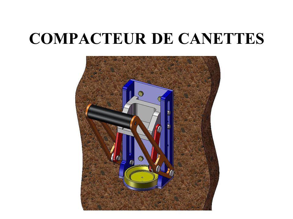 Développement durable •Le compacteur de canettes est un procédé manuel qui permet de réduire et recycler ces déchets.