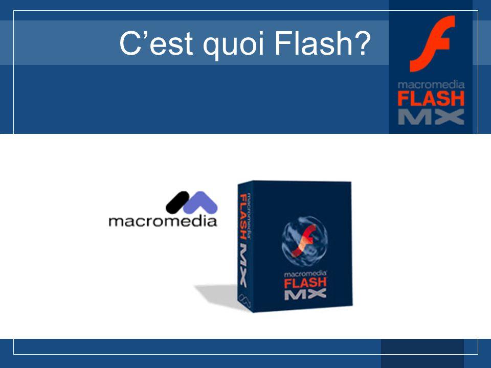 Initiation à Flash MX