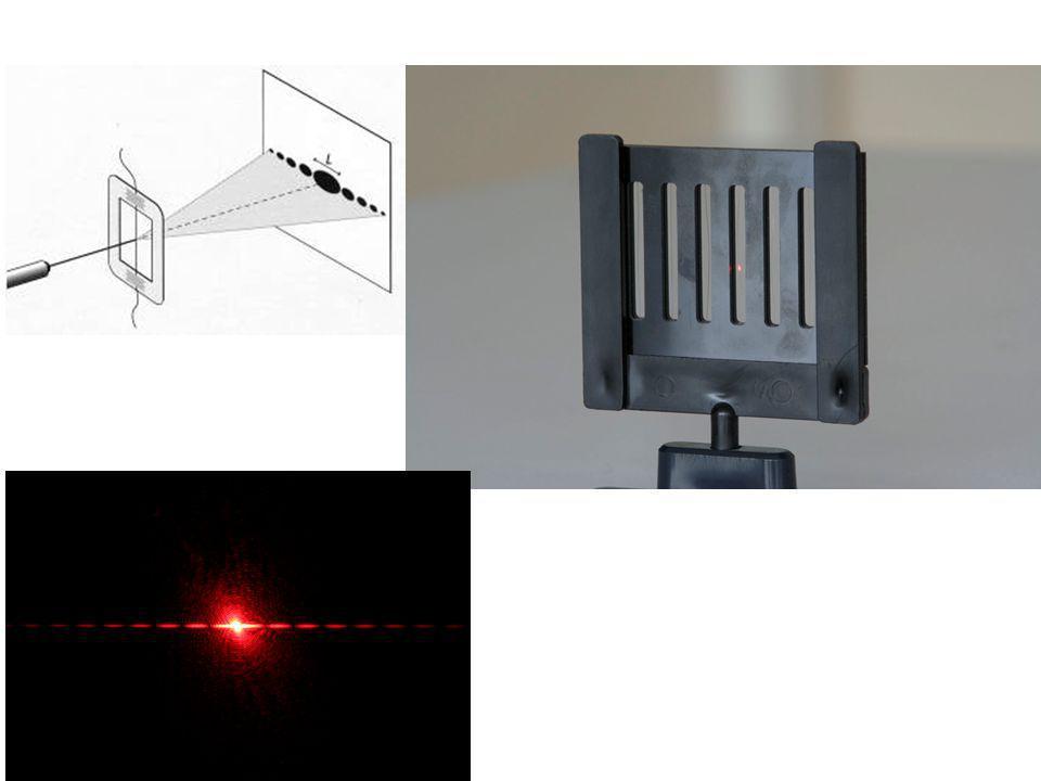 • l'objet diffractant peut être une ouverture ou un obstacle et porte le nom de pupille diffractante