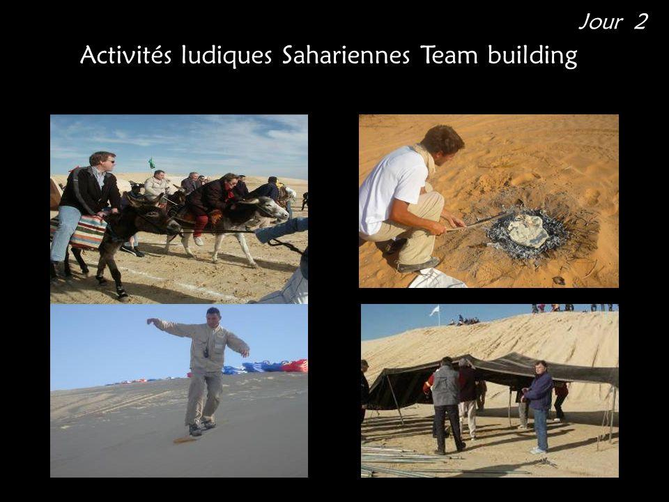 Activités ludiques Sahariennes Team building Jour 2