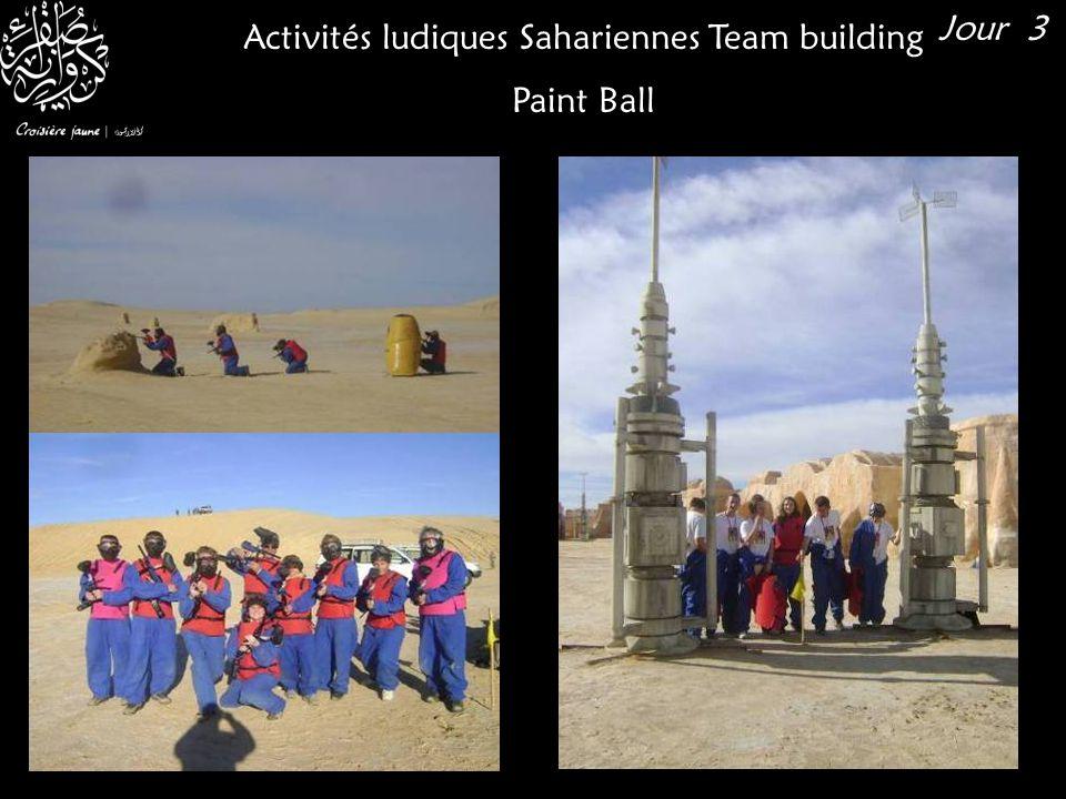 Activités ludiques Sahariennes Team building Paint Ball Jour 3