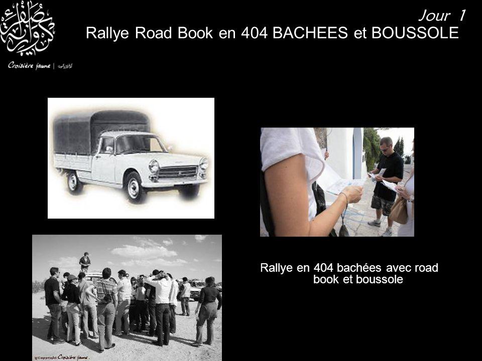Rallye en 404 bachées avec road book et boussole Rallye Road Book en 404 BACHEES et BOUSSOLE Jour 1