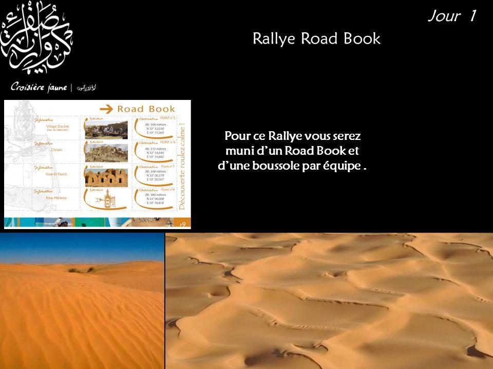Pour ce Rallye vous serez muni d'un Road Book et d'une boussole par équipe. Rallye Road Book Jour 1