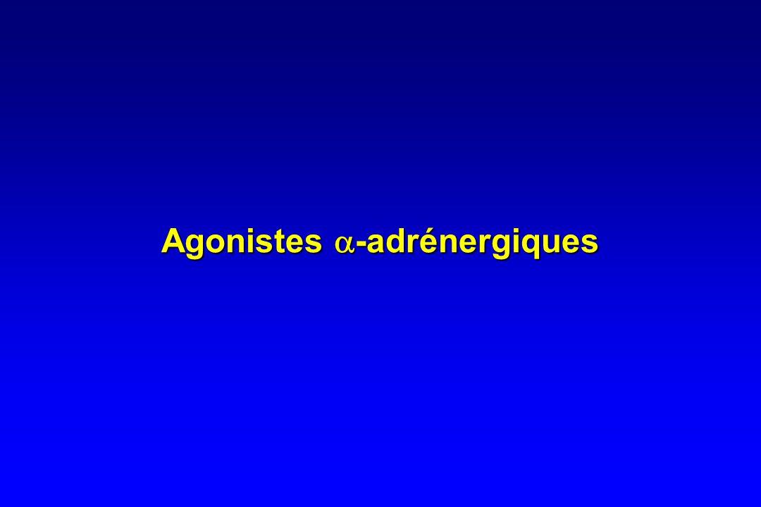 Prise en charge médicamenteuse Vasoconstricteurs •Agonistes  -adrénergiques : –Dopamine => inefficace –Noradrénaline –Midodrine •Dérivés de la vasopr