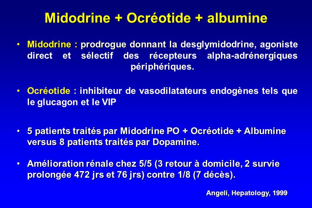 Noradrenaline (2) Duvoux, Hepatology, 2002