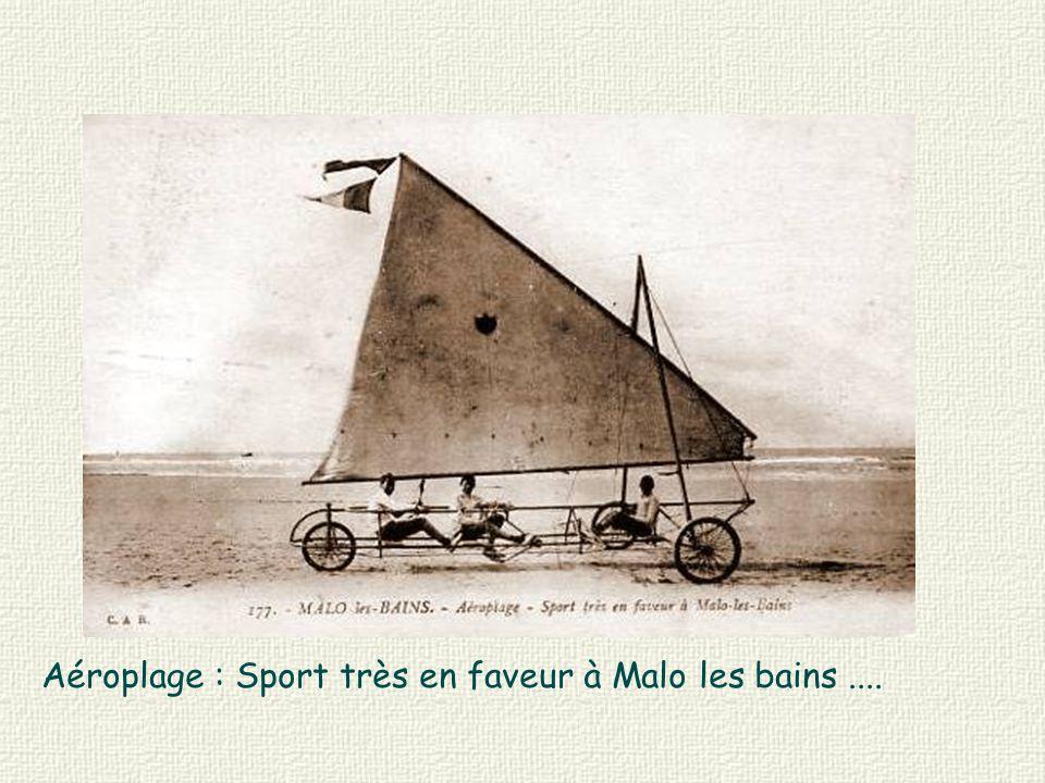 Aéroplage : Sport très en faveur à Malo les bains....