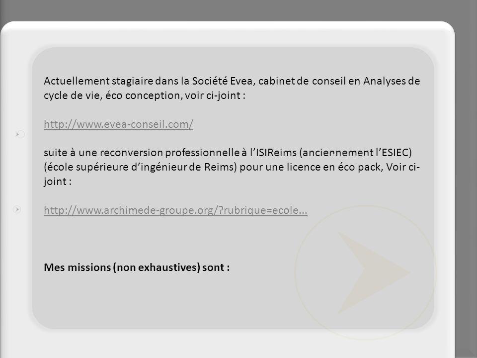 Création de réseaux sociaux - Viadéo - Twitter - Linkedin - Facebook Marketing Web : - Référencement des 3 sites Web EVEA - Gestion des newsletters & mailing - Diffusion de contenu dans les sites d actualité - Animation des sites Développement commercial France & International : - positionnement des offres sur le marché (benchmark) - actions commerciales et leur suivi - support à la vente des logiciels via partenaires distributeurs - support à la vente de formation / conseil Animation du réseau client existant : - animation réseau de clients en France pour les mêmes produits - Aide à la mise en place de la nouvelle base Clients sur VTiger Entreprise