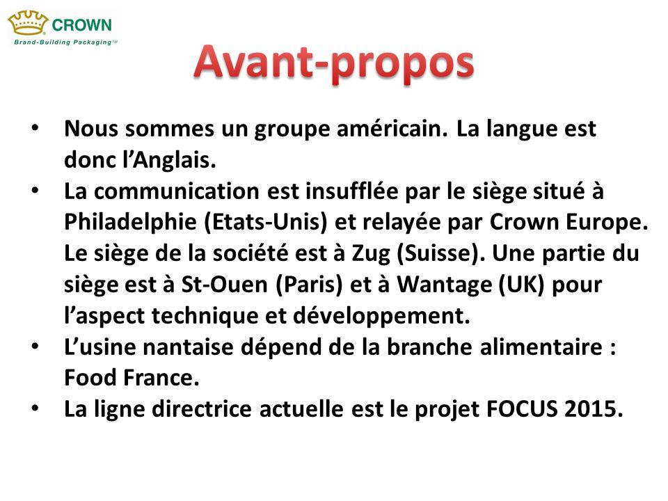 Le projet FOCUS 2015 englobe 7 dimensions dont celle qui correspond à la sécurité des personnes, à l'environnement et au développement durable.