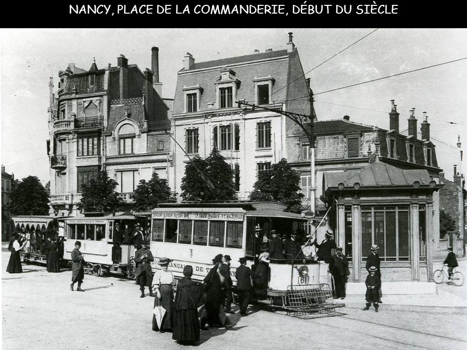 NANCY Rue Gambetta 1900