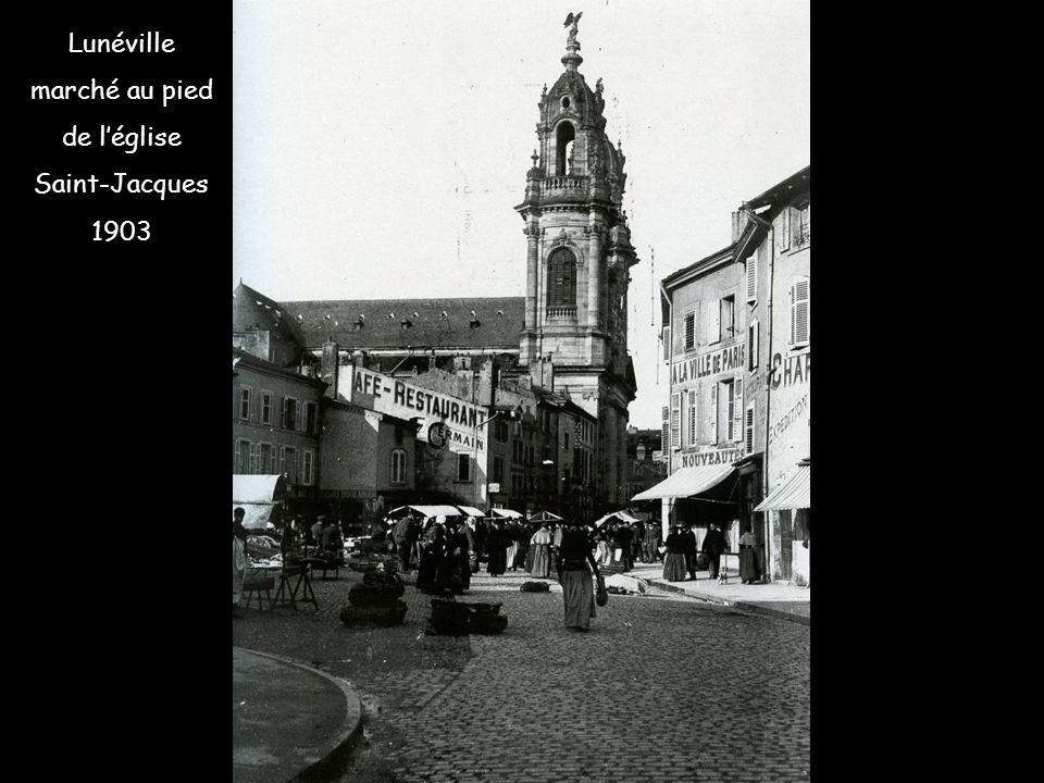 KNUTANGE cité ouvrière avant la 1 ère guerre mondiale
