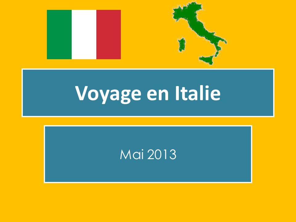 Voyage en Italie Mai 2013