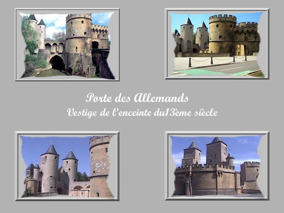 Porte des Allemands Vestige de l'enceinte du13ème siècle