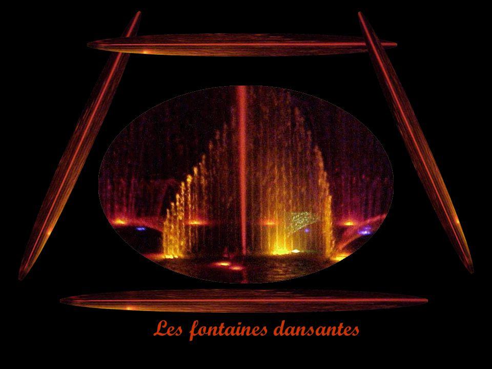Les fontaines dansantes