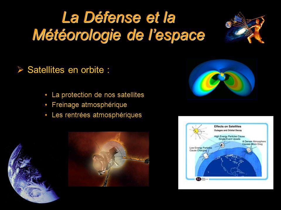  Risques d'exposition des pilotes La Défense et la Météorologie de l'espace