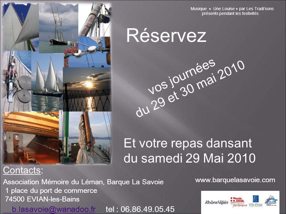 Deux journées d'animations sur les quais d'Evian et sur les Barques M u s i q u e e t f o l k l o r e Convivialité