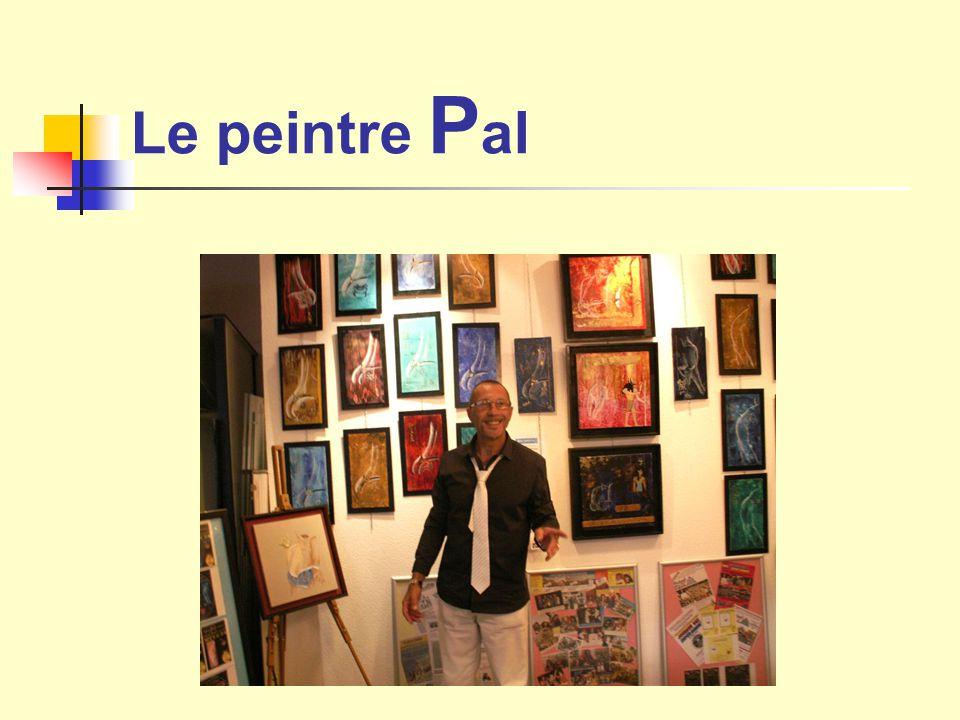 Le peintre P al
