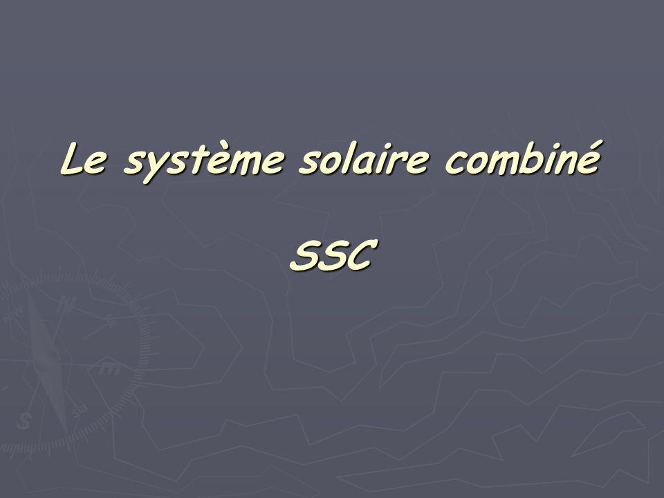 Le système solaire combiné SSC