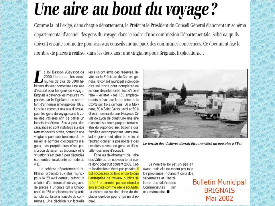 Une autre menace : Sur le POS de 1999 on peut voir une réserve de 7 mètres de 7 mètres Celle-ci peut conduire BRIGNAIS à ouvrir une voie entre la ZI des Vallières et la ZAC des Basses Barolles (sur le ch.