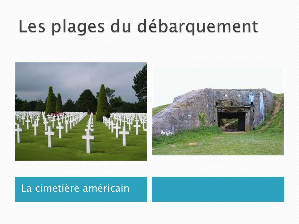 La cimetière américain