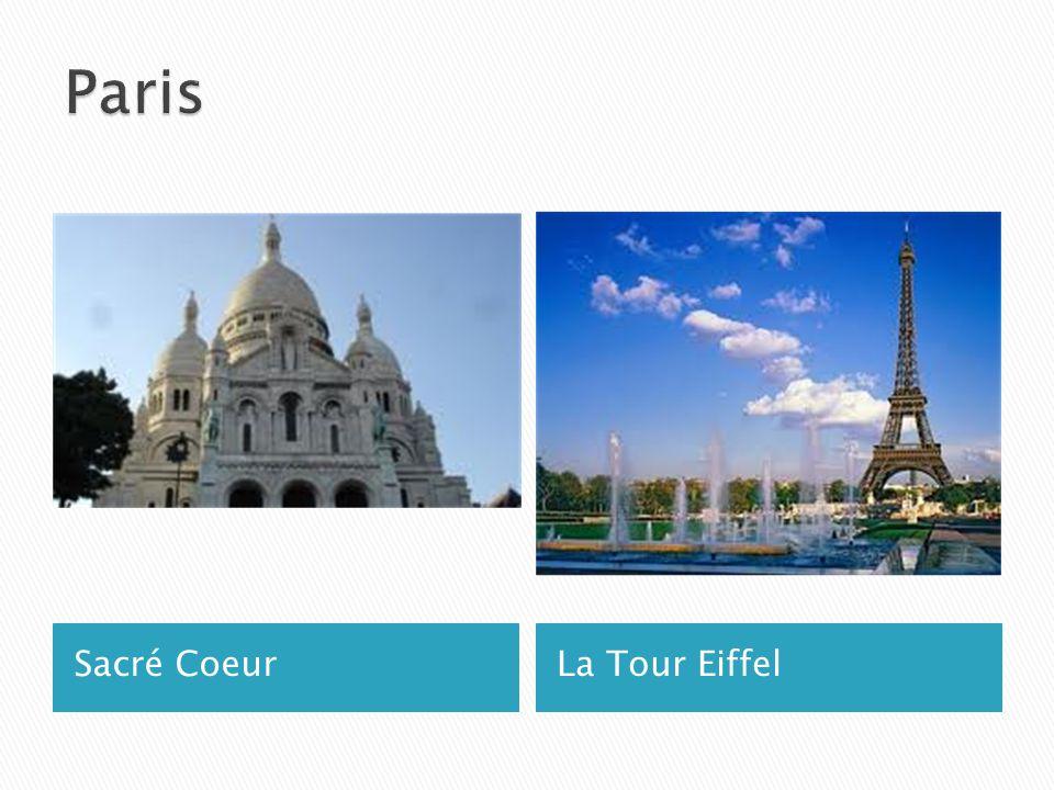 Sacré CoeurLa Tour Eiffel