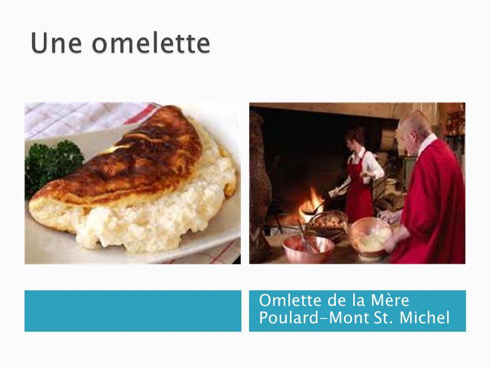 Omlette de la Mère Poulard-Mont St. Michel