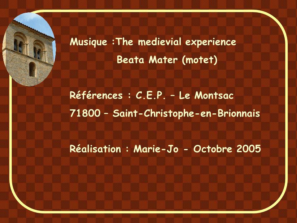 Les commentaires de ce diaporama sont très largement inspirés des publications du C.E.P., Centre International d'Études des Patrimoines culturels en C