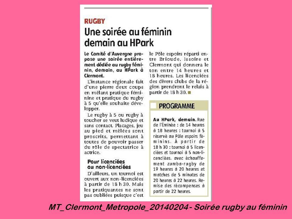 MT_Clermont_Metropole_20140204 - Soirée rugby au féminin