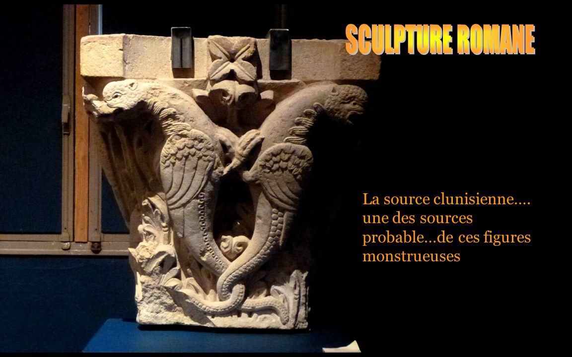 La source clunisienne…. une des sources probable…de ces figures monstrueuses