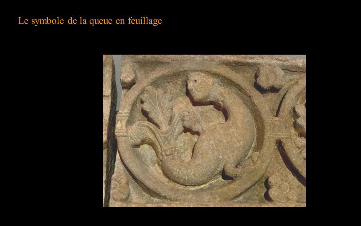 Le symbole de la queue en feuillage