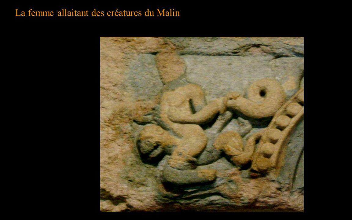 La femme allaitant des créatures du Malin