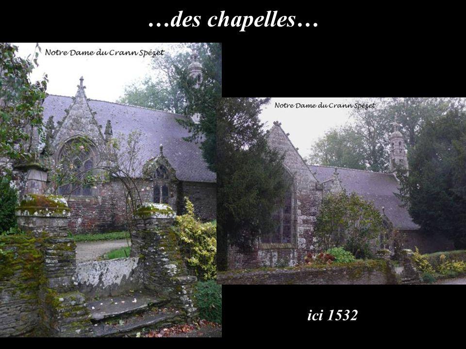 …de belles et anciennes demeures…