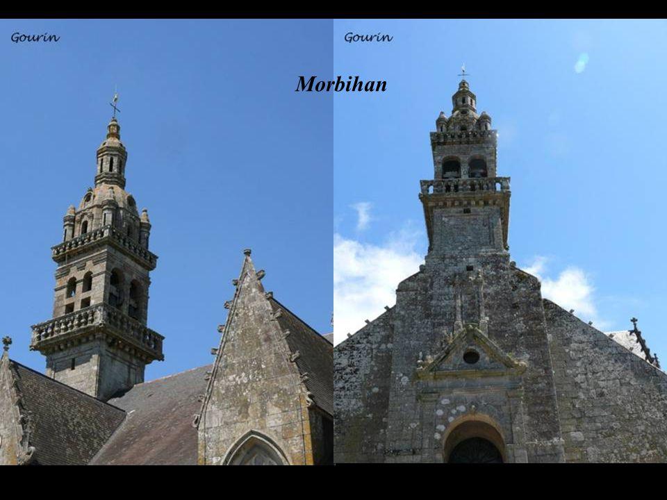 …des églises de styles différents… Finistère