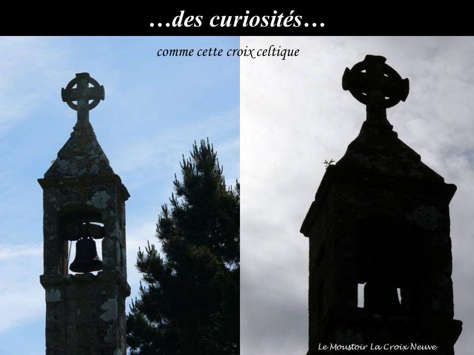 …des curiosités… comme cette croix celtique