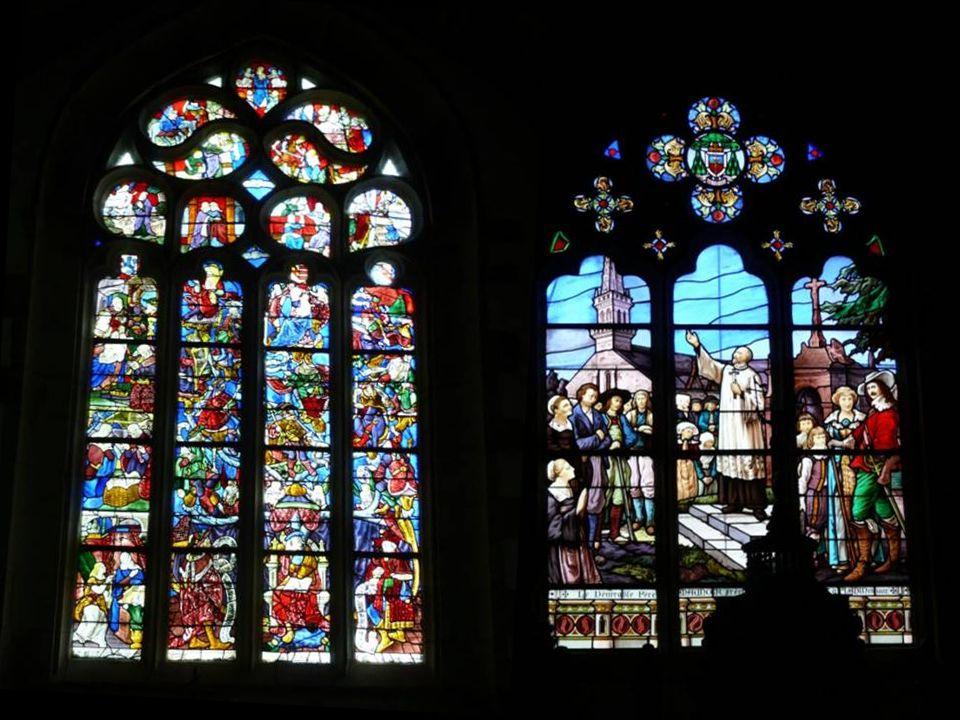 …et aussi de superbes vitraux.