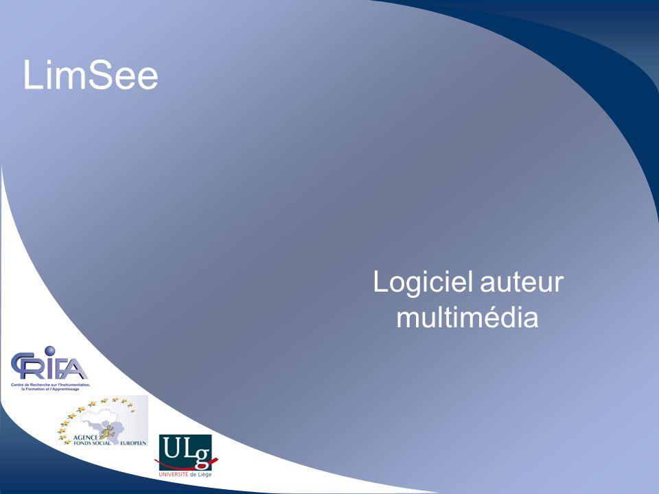 LimSee Logiciel auteur multimédia
