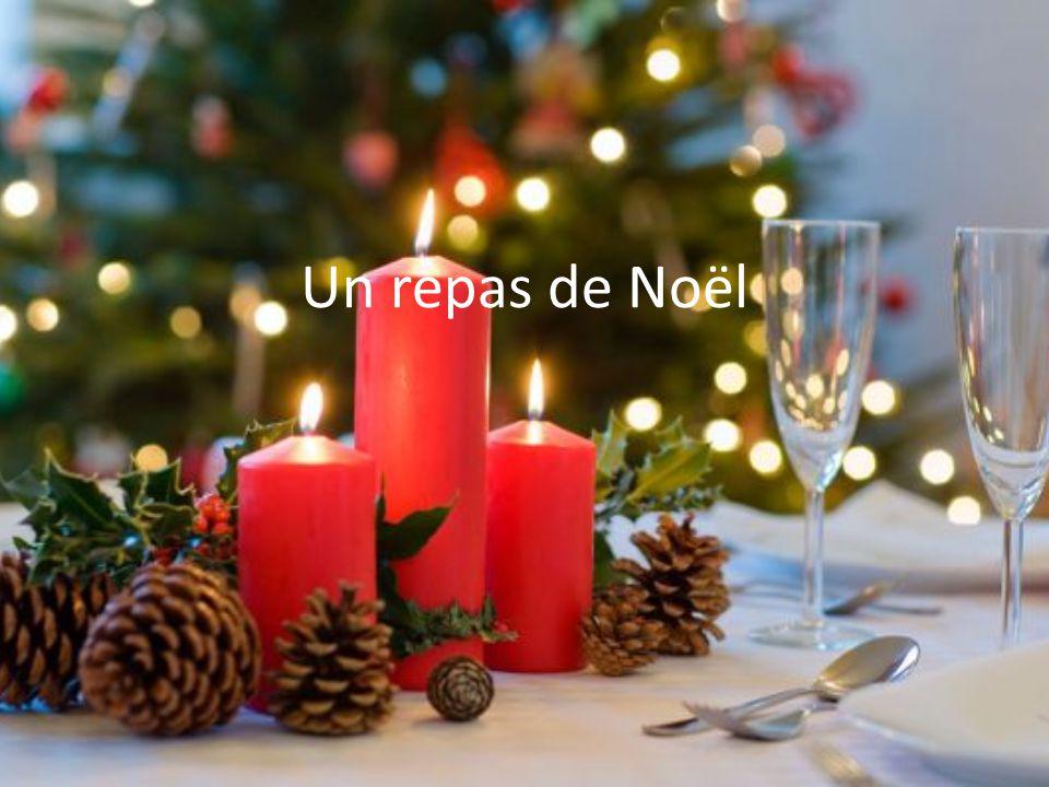 Les entrées Les fruits de mer: Dans les repas de Noël on mange des crevettes, des moules et d´autres fruits de mer., surtout dans les villes qui sont a côté de la mer.