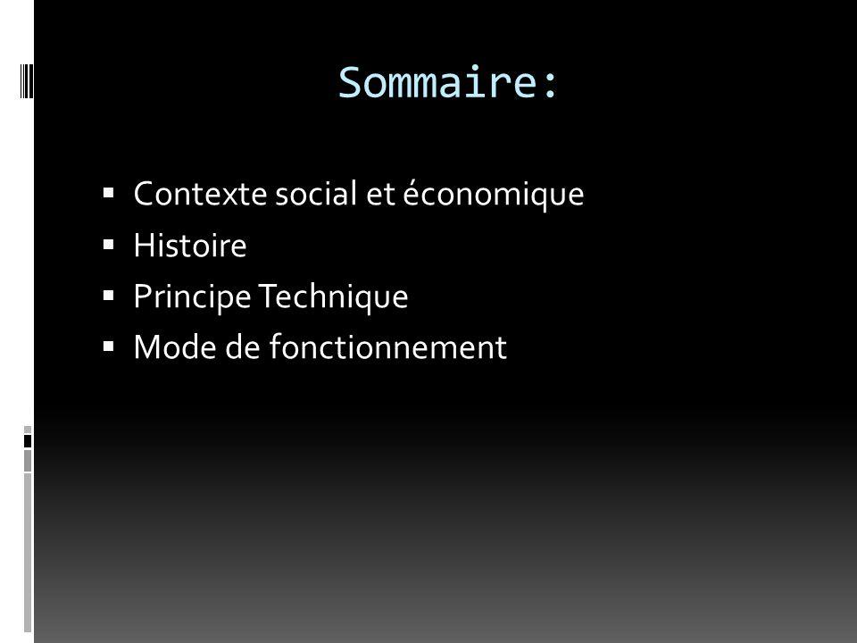 Contexte social & économique  Le contexte socioéconomique : l'amélioration des conditions de vie et donc d'accès aux soins, la découverte d'une technologie qui permet d'observer l'intérieur du corps humain sans intervention chirurgicale.